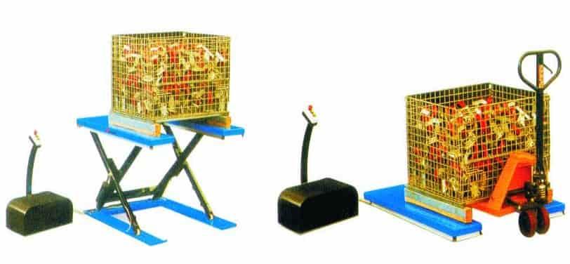 bàn nâng thủy lực điện chữ U
