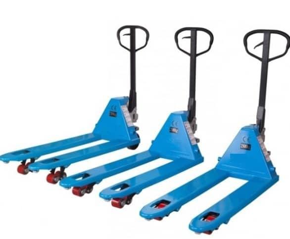 xe nang tay eoslift xanh dương